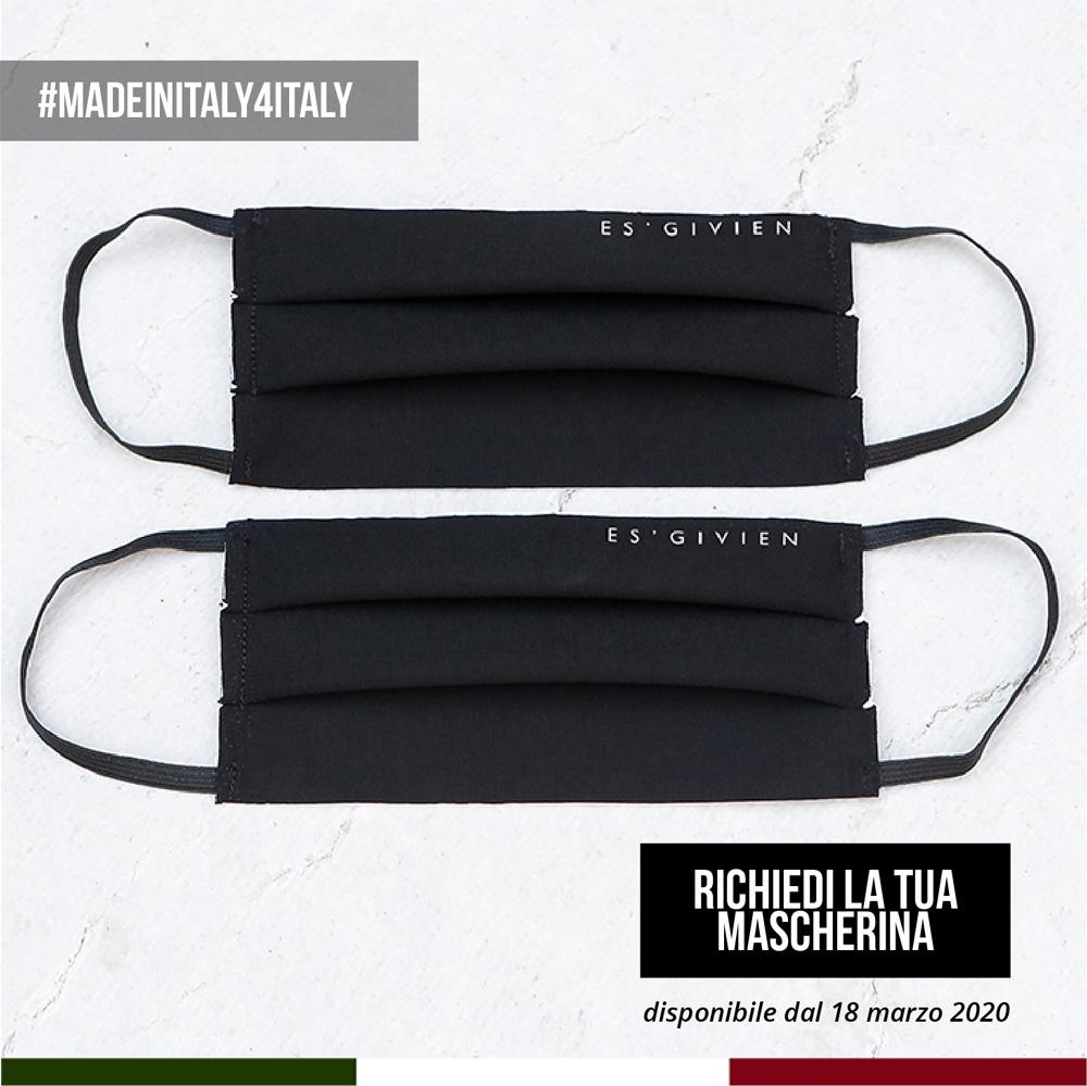 maschera bocca made in italy